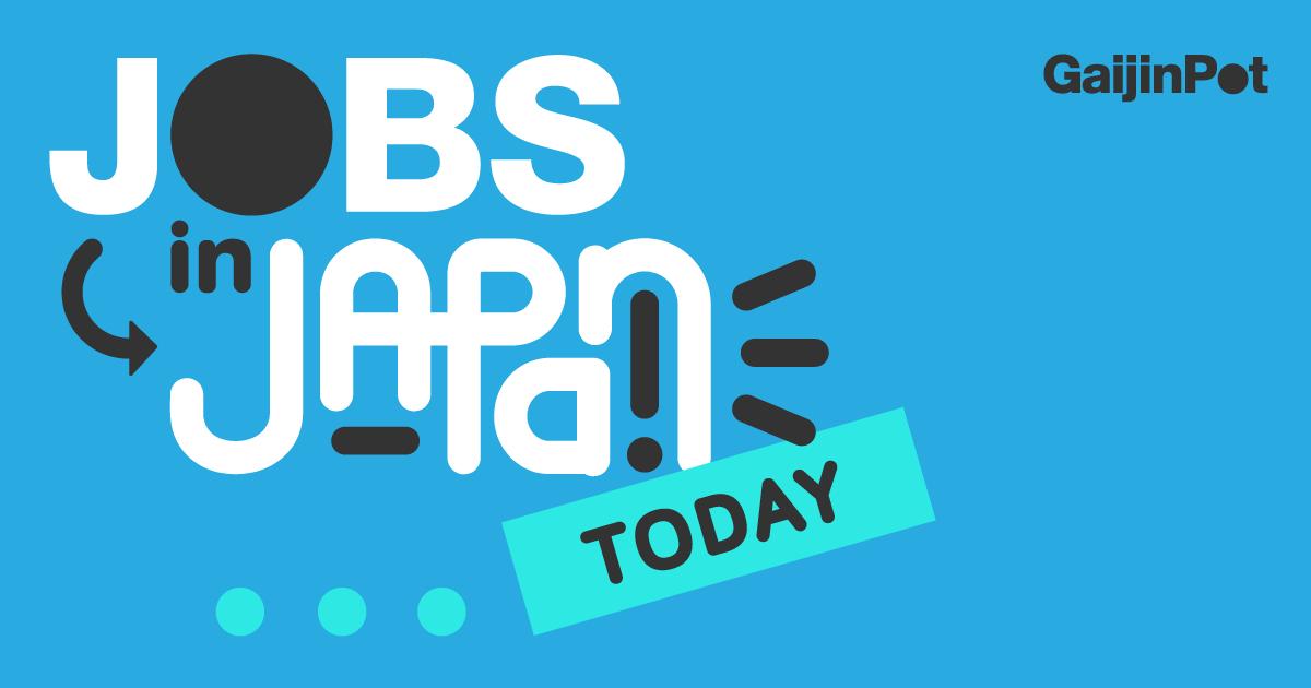 Work In Japan Gaijinpot Jobs
